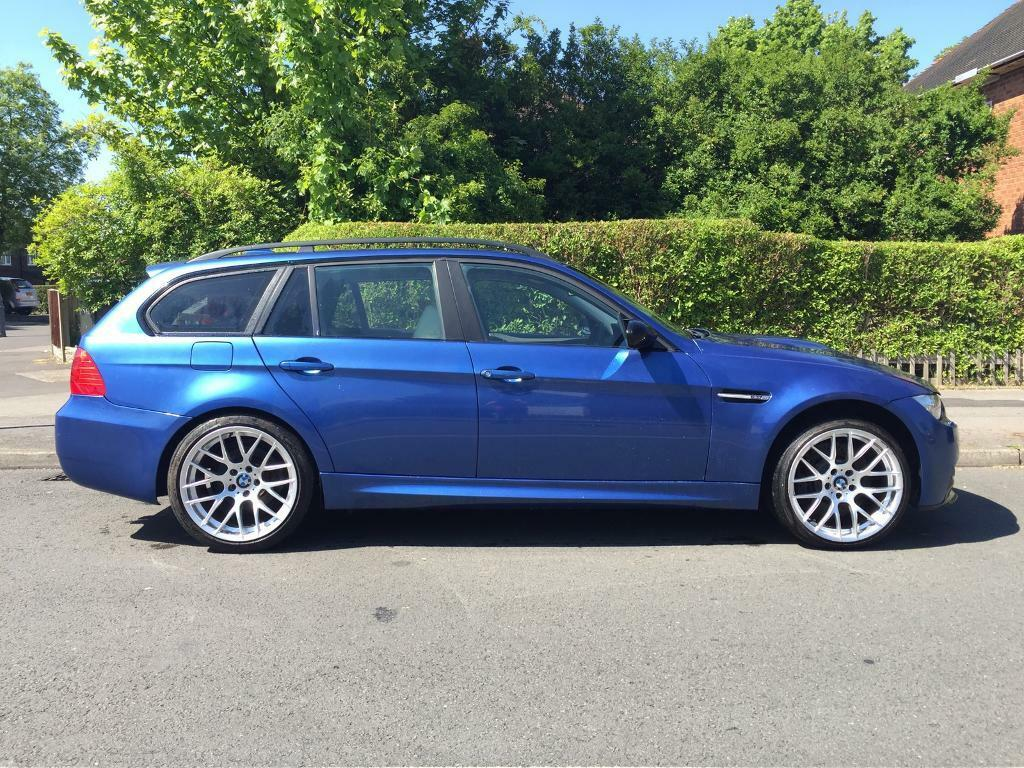 2006 BMW 325i touring M3 rep Monte Carlo blue | in Moseley, West ...