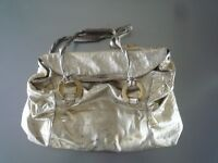 Johanna Ho Gold Handbag (Hong Kong Designer stocked by Lane Crawford)