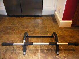Door gym, pull up bar