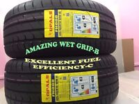 2 x 225/40ZR18 OPAL 2 TYRE'S INCLUDING FITTING BALANCING ONLY £ 70 NEW TYRES 2254018