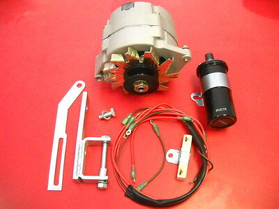 Complete Massey Ferguson To30 Tractor Alternator 12v Conversion Kit With Coil
