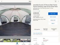 : Skandika Korsika 10 Man tent