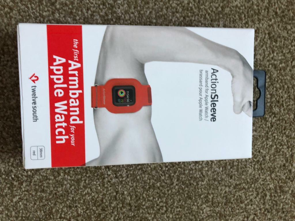 Action sleeve armband for Apple Watch
