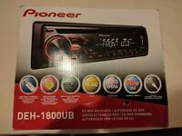 Pioneer DEH-1800UB Car Stereo New Display Model