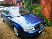 Audi A4 limited edition 163bhp spares and repairs