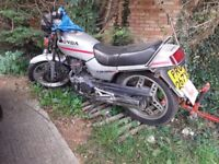 HONDA CB SUPER DREAM 4 STROKE 125CC 1982 spares or repairs REDUCED TO SELL