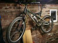 Yeti 575 asr full suspension mountain bike