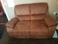 3 seater and 2 seater sofa excellent condition only 1 yr old