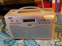 DAB Radio vintage style