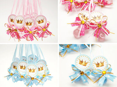24 PC Princess Baby Shower Pacifier Necklace Favors Games Prize Decor Girl Boy - Princess Baby Games
