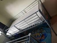 Argos Home Lucas Mid Sleeper Bed Frame - Grey
