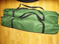 2X Adventuridge Single Green Foldaway Camping Bed In An Easy Storage Bag