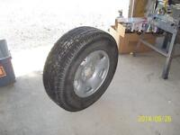 Winter tires and Rims, for Truck