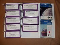 Job Lot of 11 Brother DCP / MFC Printer Cartridges.