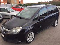 Vauxhall Zafira 1.8 i 16v Active 5dr,7 Seater 2006 (06 reg), MPV (30 days warranty) £1399