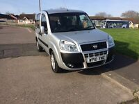 Fiat doblo dynamic 1.3 diesel multijet 45k,ffsh,2010,wheel chair adapted