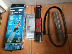 Fluval Aquavac+ Battery powered Gravel Cleaner and Water Changer