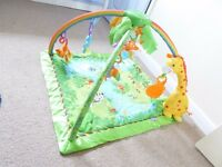 Fisher Price Rainforest Play Mat/gym