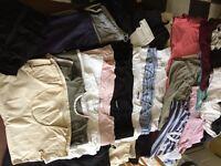 HUGE Maternity Bundle sizes 12-18 (25 items plus 19 maternity bras)
