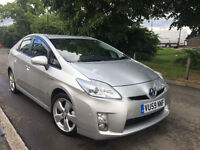TOYOTA PRIUS T-SPIRIT 59 REG SATNAV FULLY LOADED REVERSE CAMERA 2 KEYS NOT MERC BMW AUDI LEXUS FIAT