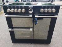 STOVES STERLING 900E 90cm CERAMIC ELECTRIC RANGE COOKER (second hand )07951551712/07535853439