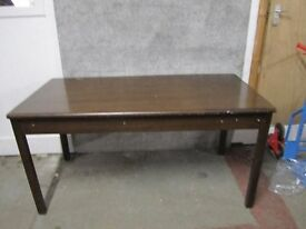 Abbess vintage solid wood desk No. 21/2/17