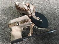 Ladies shoes/sandals size 6/39-new!
