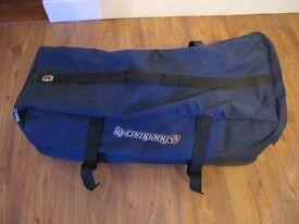 IQ Company DIVE BAG Wheeled Holdall Blue Dry Bag Travel Scuba Large