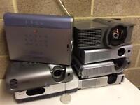 Job lot. 7x projectors