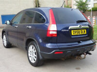 HONDA CR-V 2.2 I-CTDI EX 5d 139 BHP 2 PREVIOUS KEEPERS + FULL LEATHER + FULL SERVICE RECORD
