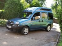 Fiat doblo 2004. Customized camper van .