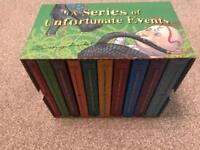 Boxed set Series of Unfortunate Events by Lemony Snicket