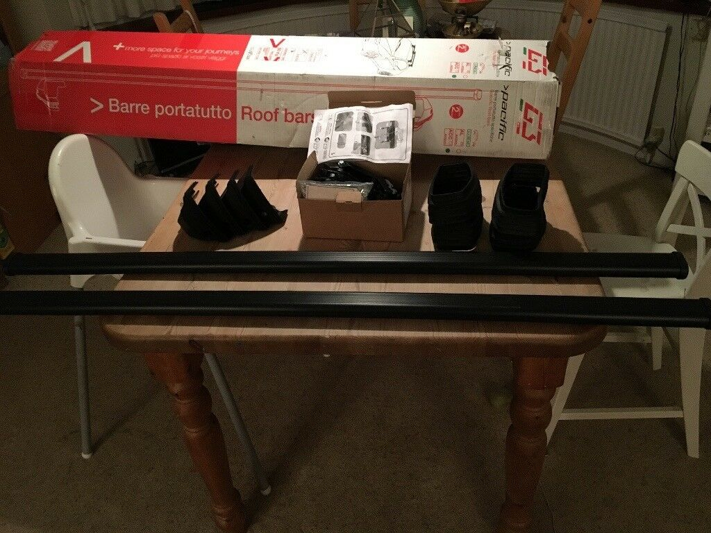 Mercedes Roof Rack Bars - G3 Pacific specific For Mercedes CLA coupe 4 Door Car