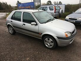 2002 52 Ford Fiesta 1.25 low mileage
