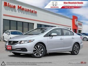 2014 Honda Civic EX Sedan - Auto LOW KMS