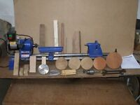 RECORD WOOD TURNING LATHE