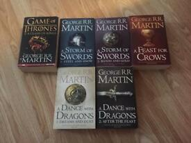 Game of throne books