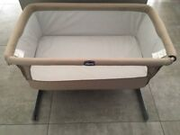 Chicco Next2me Crib (dove grey) - Excellent Condition