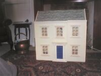 Doll's house. Georgian style.
