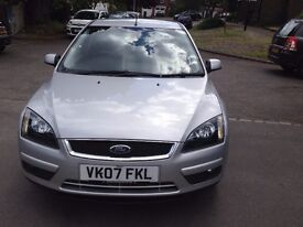 2007 FORD FOCUS TITANUM FINISHED IN METALLIC SILVER