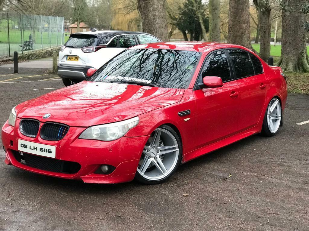 bmw e60 530d imola red 6 speed manual quick sale in leytonstone london gumtree. Black Bedroom Furniture Sets. Home Design Ideas