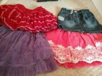 Gorgeous girl's skirt bundle age 2-3yrs