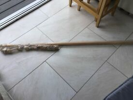 BRAND NEW - Wooden Curtain Pole