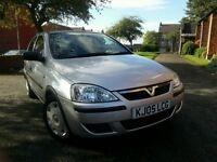 2005 Vauxhall Corsa 1.2 i 16v Life 5dr QUICK SALE !!!!!! 07448262272