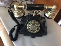 GREAT COND GPO Duke Classic Vintage Telephone with Push Button Dial 20s 30s 40s