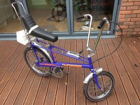 Raleigh Chopper MkII 1978 (restored) purple