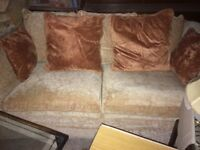 Free furniture- 3 seater, 2 seater and armchair