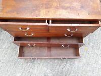Vintage Wooden Drawers - solid wood bedroom