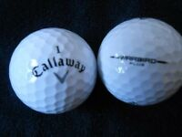 Callaway Warbrid Golf Balls x 50. Pearl Condition