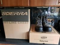 Scierra Dryline Taslan chestwaders and wading boots
